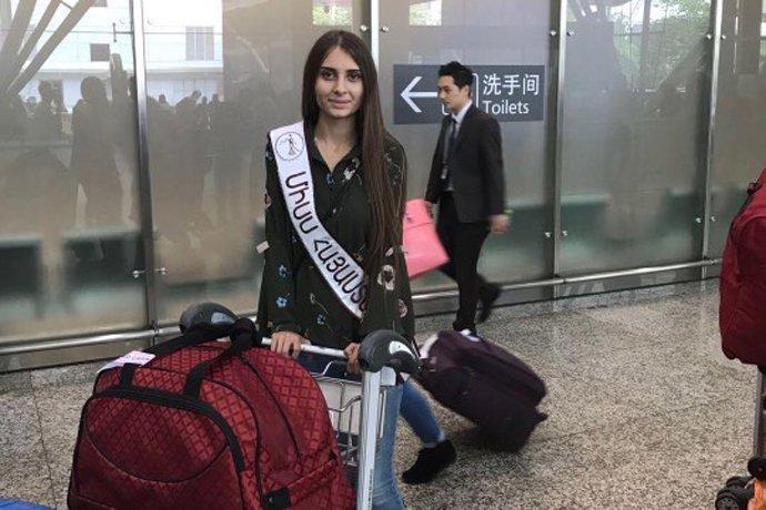 Օրվա կադրը. գեղեցկուհի Լիլի Սարգսյանը՝ Չինաստանում