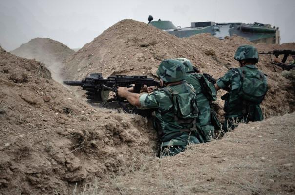 Azerbaijan shells Nagorno-Karabakh defense posts