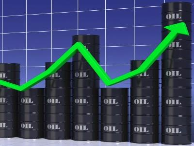 Oil prices rising