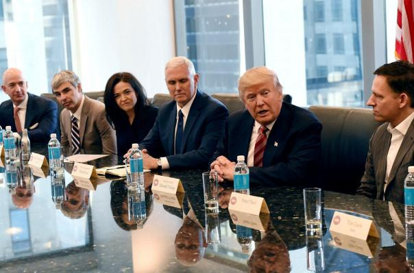 Tech giants oppose Trump immigration ban
