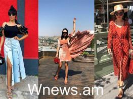 Արթուր Ջանիբեկյանի կնոջ` Էլինա Ջանիբեկյանի ամառային look-երը