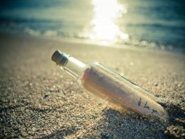 Նա գրություն դրեց շշի մեջ և նետեց ծովը, 30 տարի անց շիշը գտնվեց, միայն իմանաք, թե ինչ էր այնտեղ գրված