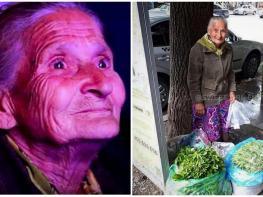 Այս տատիկը հեղափոխության մի մասնիկն է, եւ ուրեմն նա ցրտին կանաչի ծախելով չպետք է ապրի