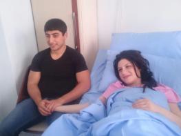 Երևանում ծնված հնգյակի ծնողները երիտասարդ 24 տարեկան Վարդանն ու 23 տարեկան Լուսինեն են. Լուսանկարներ