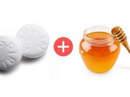 Խառնեք ասպիրինն ու մեղրը և քսեք դեմքին՝ թողնելով 10 րոպե. 3-4 ժամ հետո նայեք հայելու մեջ. ֆանտաստիկ արդյունքը երաշխավորված է