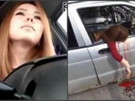 Աղջիկը ավտովթարի զոհ է դարձել ուղիղ եթերի ժամանակ (Photo, video 16+)