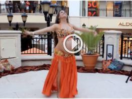 Потрясающий танец беременной девушки, от которого перехватывает дух!