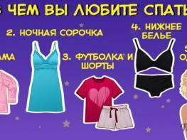 А вы знали, что одежда, в которой вы спите, может многое о вас рассказать?