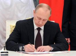 Putin signs Turkish Stream pipeline deal into law