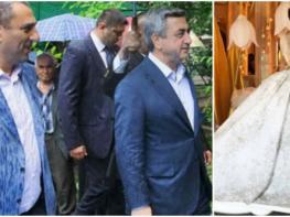 Բացառիկ լուսանկարներ` Սամվել Ալեքսանյանի դստեր շքեղ հարսանիքից