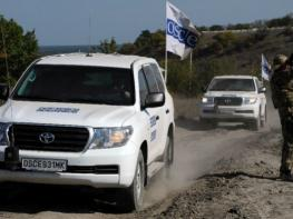 OSCE conducts monitoring of Line of Contract