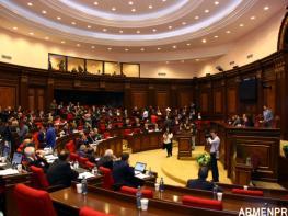 ԱԺ նստաշրջանը՝ ուղիղ. քվեարկվում են երեկ քննարկված նախագծերը