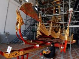 "Golden chariot restored for Thai king's ""ascent to heaven"""