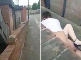 Այլասերված զույգը օրը ցերեկով սեքսով է զբաղվել փողոցում (VIDEO)