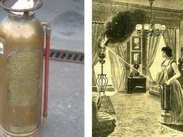 1863-ի փետրվարի 7-ին արտոնագրվեց առաջին կրակմարիչը