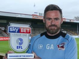 Graham Alexander leads the way in League One manager nominations