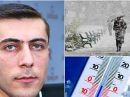 -24 աստիճան ցուրտ. Գագիկ Սուրենյանը նոր գրառում է արել