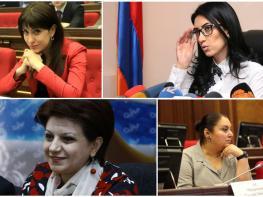 Ожесточенная борьба идет между женщинам-членами Республиканской партии Армении